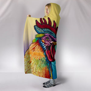 Hooded Blanket - chicken 15
