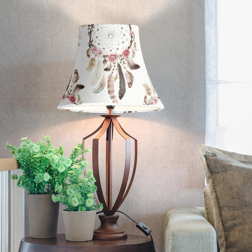 Bell Lamp Shade - Dreamcatcher 04