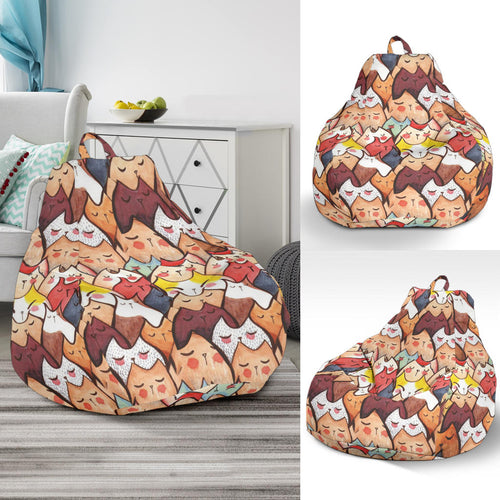 Bean Bag Chair - Cat Lovers 02