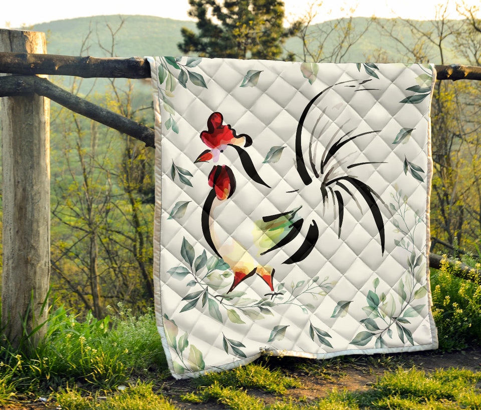 Chicken quilt blanket - 02