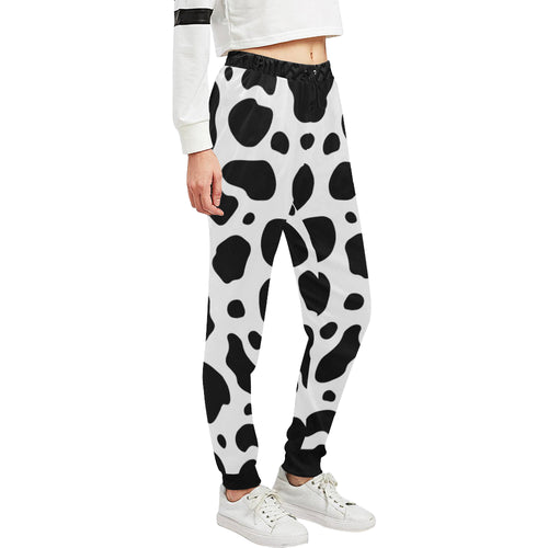 cow skin Sweatpants for Men & Women
