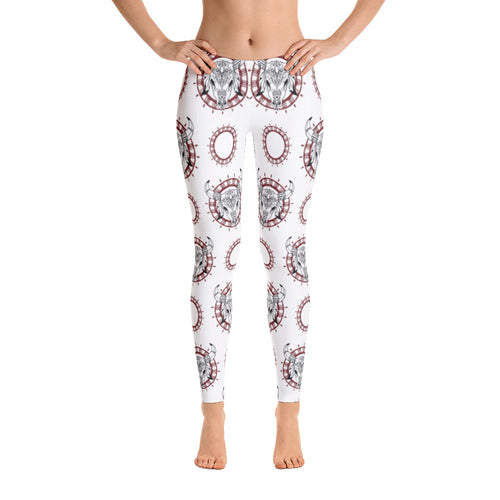 Women's Ultra Soft Leggings Fashion Seamless Stretch Pants for Cow Lovers-sk14