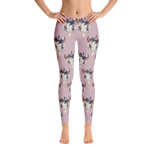 Women's Ultra Soft Leggings Fashion Seamless Stretch Pants for Cow Lovers-sk07