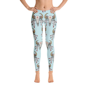 Women's Ultra Soft Leggings Fashion Seamless Stretch Pants for Cow Lovers
