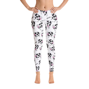 Women's Ultra Soft Leggings Fashion Seamless Stretch Pants for Cow Lovers-sk11