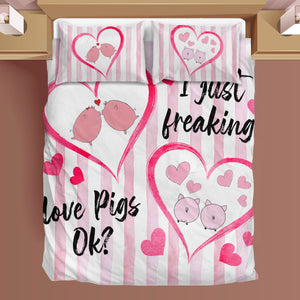 Bedding Set - Pig Lovers 01