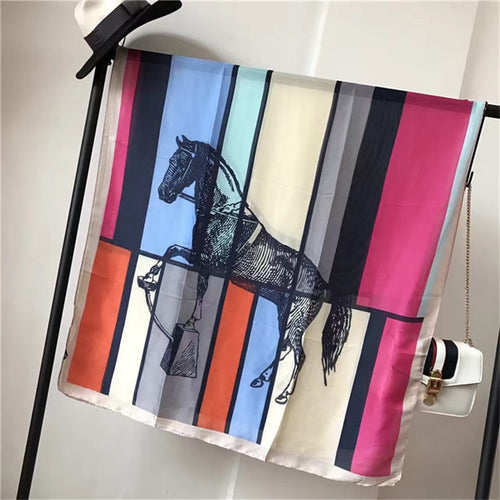 Fashion design horse carriage scarf soft headband 004