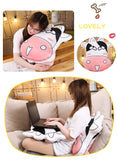 funny expression cow pillow soft animal stuffed