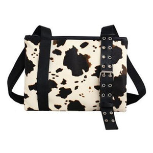 Cow Shoulder Bag for Women
