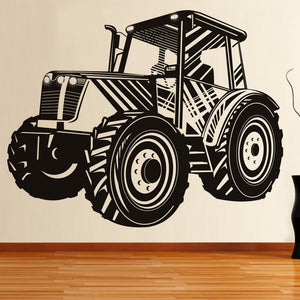 Tractor Wall Decal Sticker Vinyl Removable Self Adhesive Home Decor