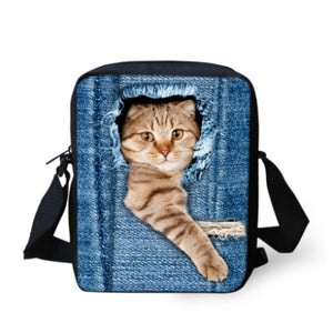 Bags 3D Cat for Girls