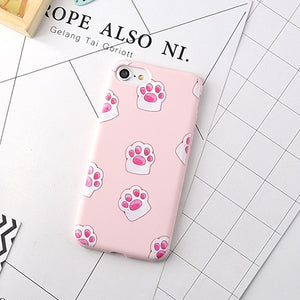 Cartoon Pink Cute Pigs Soft TPU Phone Back Cover - Barnsmile.com-Barnsmile.com-shirt, tees, clothings, accessories, shoes, home decor