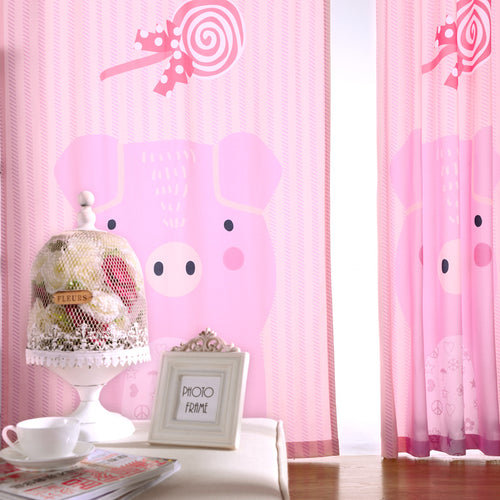 Pink Bedroom Window Curtains Princess  New