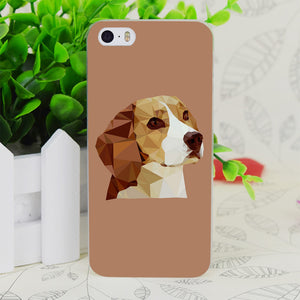 Beagle Transparent Hard Thin Phone case