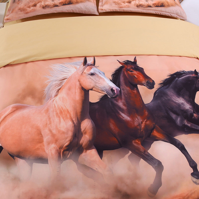 horse 3D Bedding Set Print Duvet cover sets