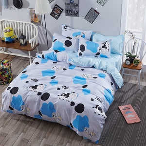 Cow pattern for your bed - Barnsmile.com-Barnsmile.com-shirt, tees, clothings, accessories, shoes, home decor