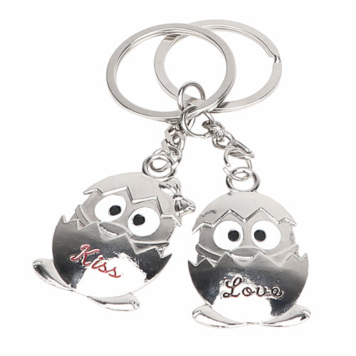 A Pair For Lovers Keychains  Chicken