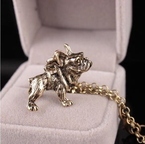 French Bulldog Necklace Lovely Bulldog Jewelry