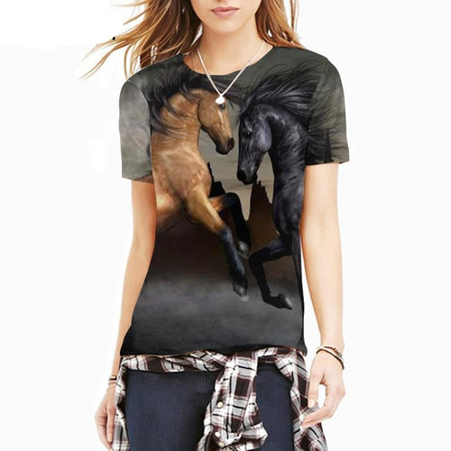All over print tshirt- Horse 10
