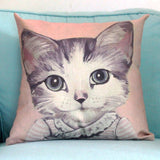 Cat Family Cushion Cover 45X45cm