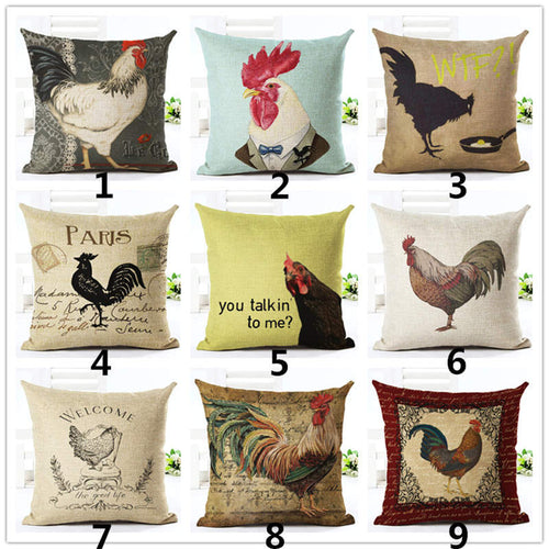 Pillowcase chicken - vintage