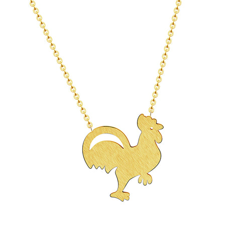 Necklace Cute Tiny Chicken