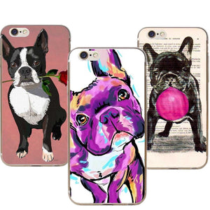 Phone Cases French Bulldog Art For iphones