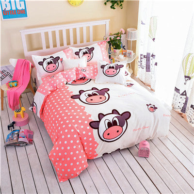 Lovely Cows Bedding Set