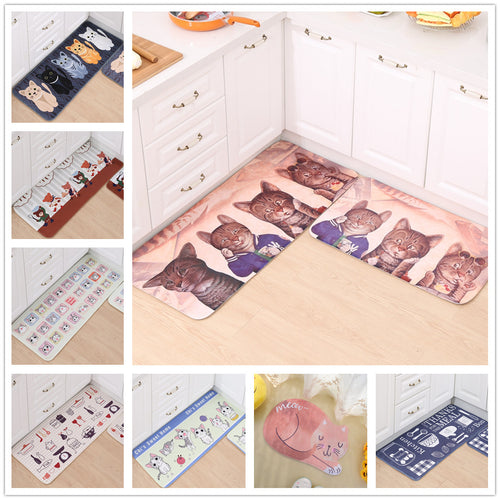 30 Styles New Cartoon Cat Carpet