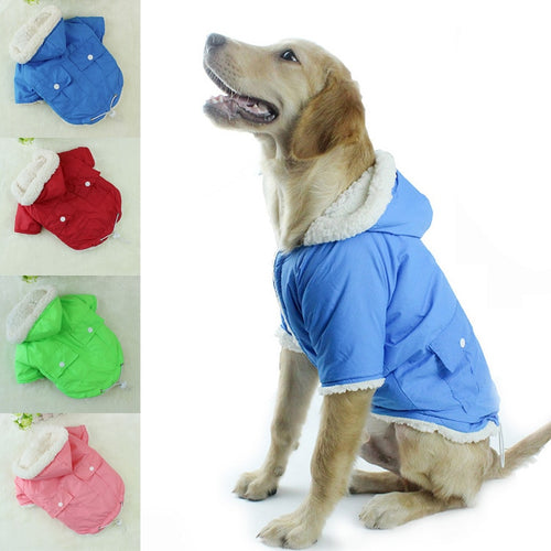 Bulldog Chihuahua Pet Clothes Winter Warm Coat Clothes for Small Dogs Pet