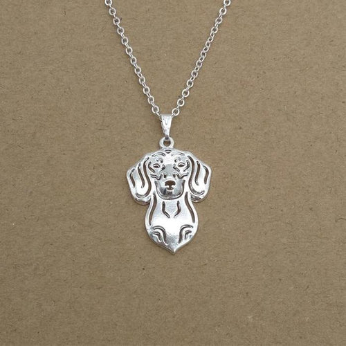 Dachshund Necklace Gold Color Silver Color Jewelry Pendant