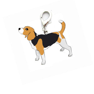 New Beagle Pet Accessories Collar Necklace Pendant