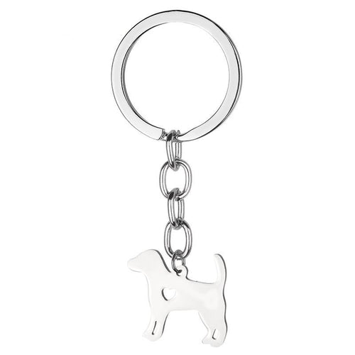 Beagle dog lover key chain jewelry