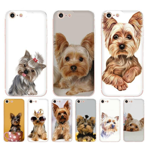 Yorkshire terrier dog phone case  for Apple iPhone