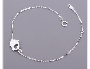 Silver Lovely Piggy Bracelets