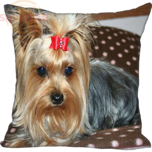 Yorkshire Terrier Dog Pillowcase