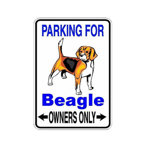 10*14.2CM Beagle Dog PVC Car Sticker