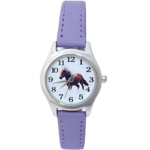 10 Colors Watch  Cute Horse - Children's Gifts