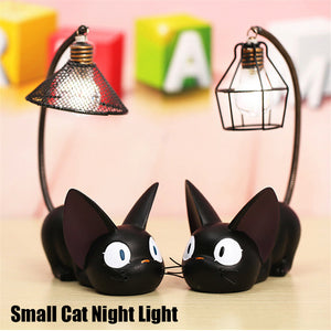 Cat Night Light Home Decoration
