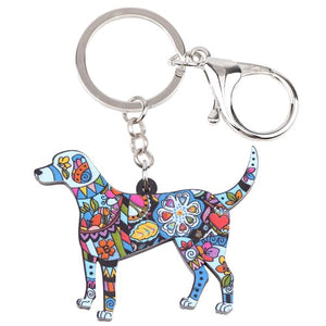 Beagle Dog Key Chain Key Ring Jewelry