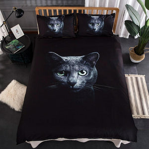 3D Cat Printed Bed Linen Bedding Set Comforter Bed Cover Quilt Duvet Cover Set