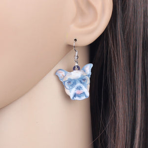 Boxer Dog Earrings Animal Jewelry For Girls