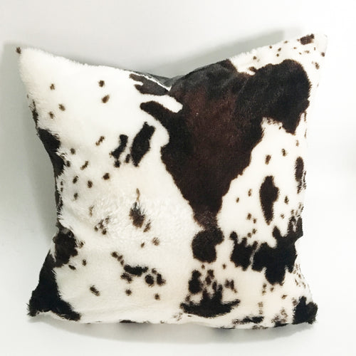 Cushion Double Layers Ultra Soft PV cow pattern