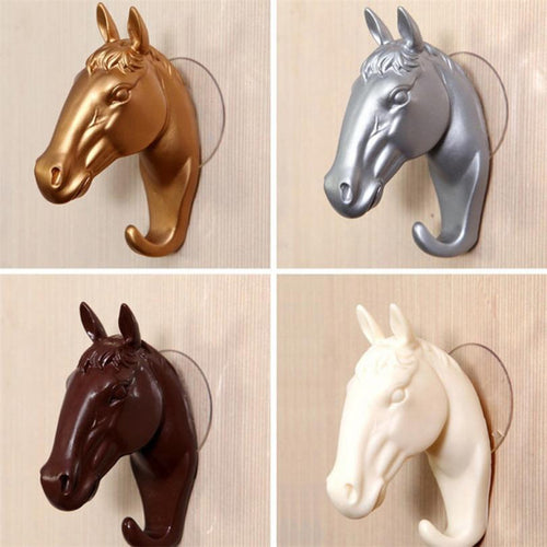Horse Wall Storage Holder Kitchen Bathroom