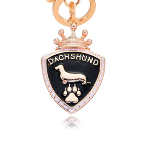 Dachshund Dog Key Chain Pendant