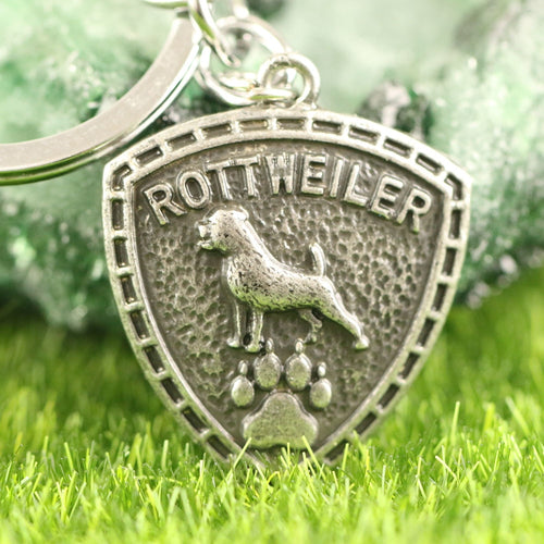 Rottweiler KeyChain Pet Jewelry 30*25mm