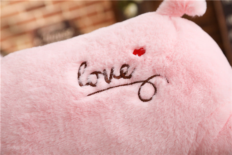 Pig Plush Pillow Stuffed Cute - Hand Warmer
