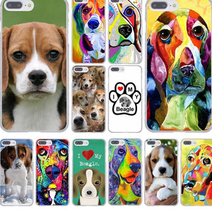I love my Beagle Dogs Hard Phone Case