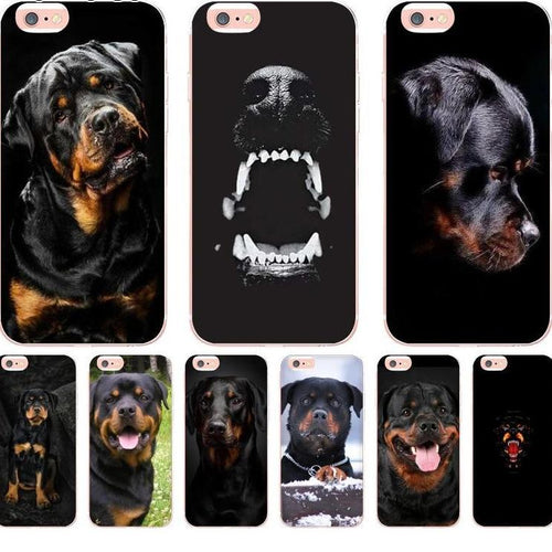 Rottweiler Dog phone case cover for Apple iPhones