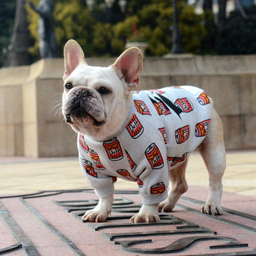 Dog T-shirt for French Bulldog, Dog Clothes